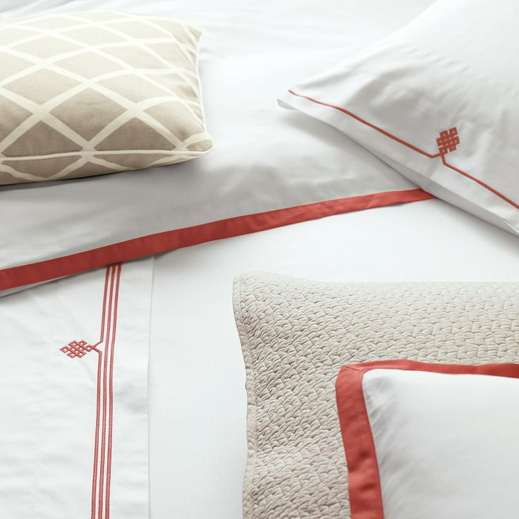 khaki white and coral u003d master br possibility find this pin and more on bedding