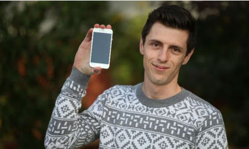 Oliver Wickers - Lucky winner of a new #iPhone6   #Contest  #CakapNiaga - Google+