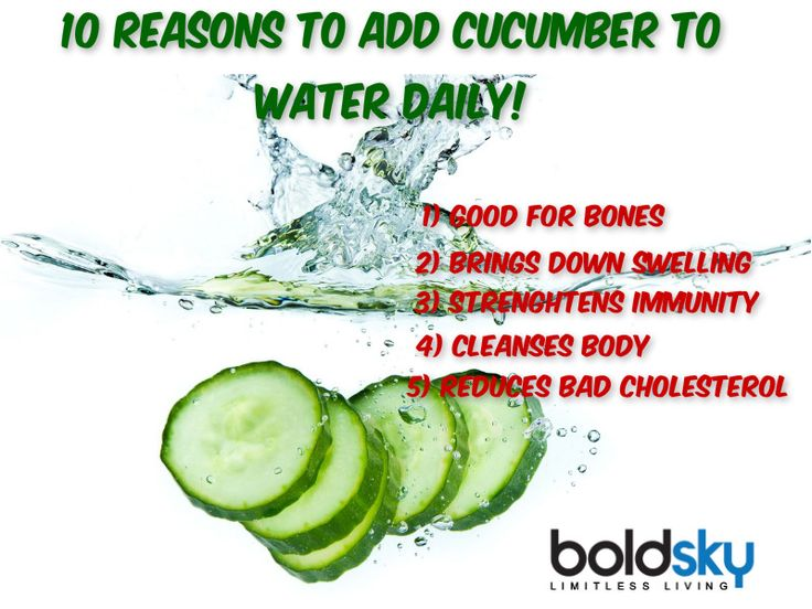 Put some slices of cucumber in water for 12 hours & drink that water... You will be amazed by the result...Take a look!