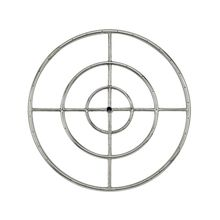 """30"""""""" Stainless Steel Fire Pit Ring Burner - By American Fireglass"""
