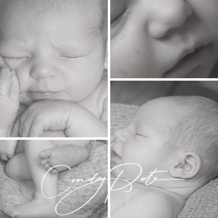 Gorgeous newborn features captured for all time
