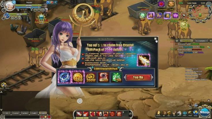 Game Web Online Mmorpg