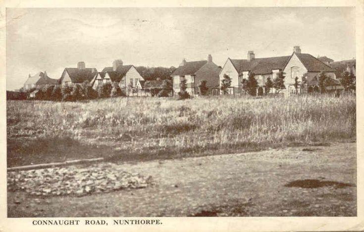 Connaught Road, Nunthorpe Postmarked 1931.