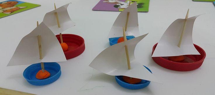 Sevgili Anne yazarlarımızdan Sinem Aygün'den sizler için kolayca yapabileceğiniz kapaktan yelkenli yapımı.