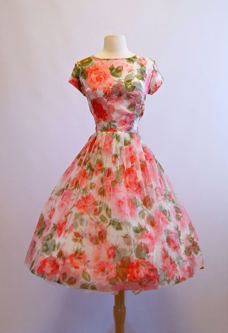 1950's garden party dress!