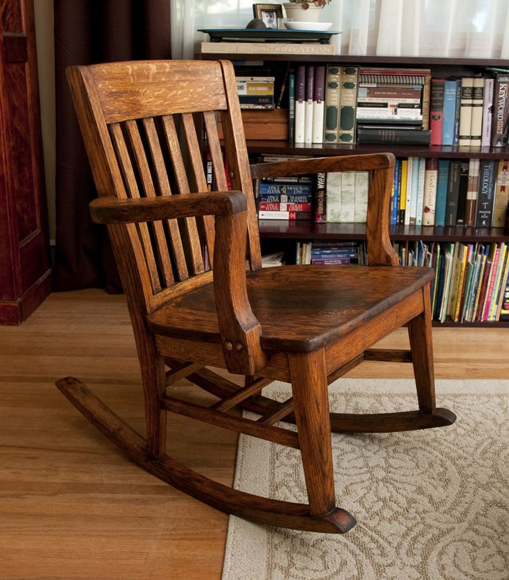 Beautiful chair redo - I love the way the dark wax made the wood have that old, worn look again.