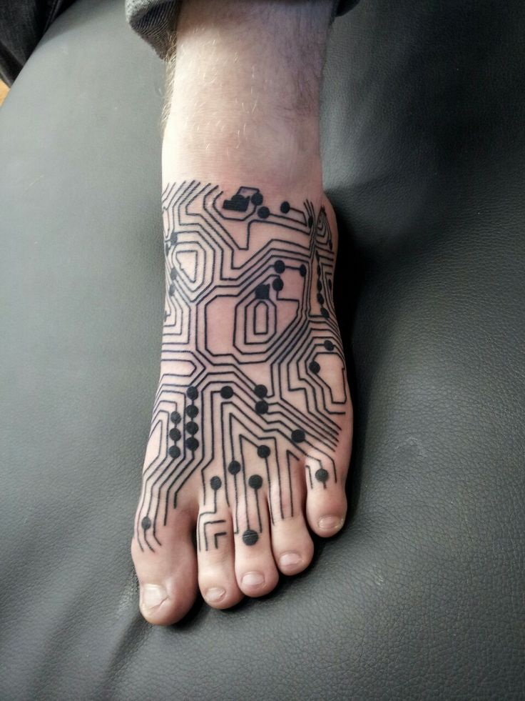 Circuit tattoo