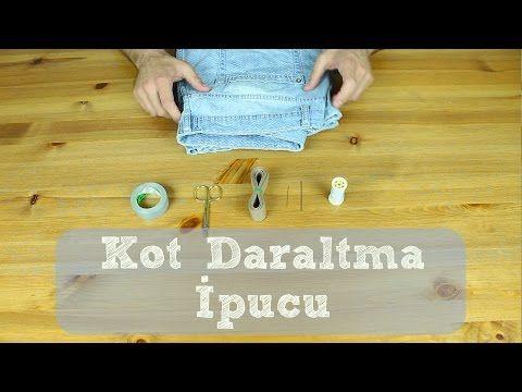 Kot Daraltma - Kolay Pantolon Daraltma - Zoraki İpuçları - YouTube