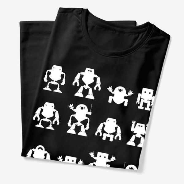 Build your own robot shirt. Perfect gift for a robot loving toddler.