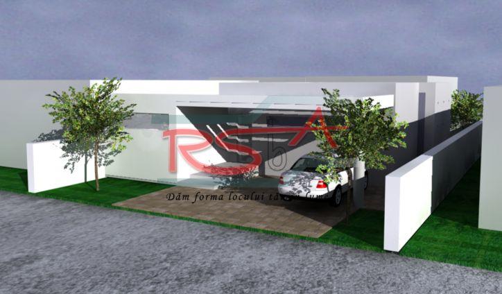 Casa pe parter pe un teren mic | RSbA - Birou de arhitectura | http://rsba.ro