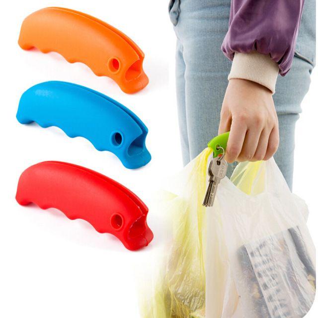 1 unids conveniente bolso que cuelga mención de calidad plato llevan bolsas de 15 g Gadgets de cocina de silicona accesorios de cocina ahorra esfuerzo