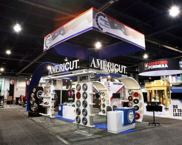 Warehouse Trade Show Booth : Best custom exhibits structures for conexpo con agg