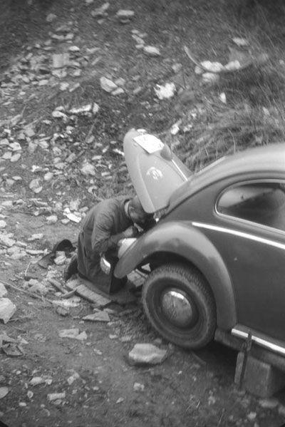 Volkswagen. Motorensuche 1965.  Bild: Roland Steffen