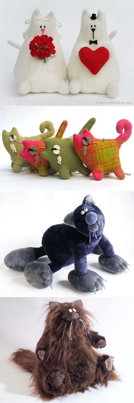 Идеи для подарков своими руками от IzTkaniRukami - котики