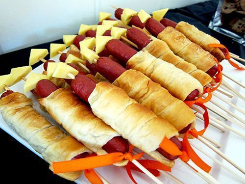 Rocket Dogs And Other Food Ideas For A Space Themed Party