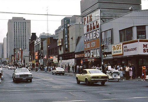 Yonge & Dundas Streets, Toronto - 1960s