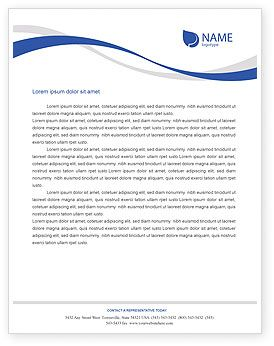 This is a Letterhead Template #01635 that I have just liked at PoweredTemplate. Go ahead and check it out!