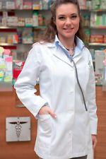 Camice Grembiule Donna da lavoro Medico Estetista Farmacista Abbigliamento Abiti