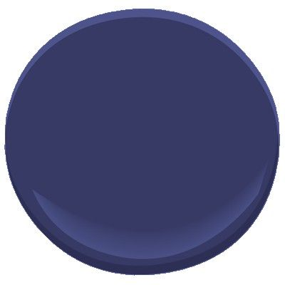 Benjamin Moore Blue Grotto; blue/purple hybrid - on same color chip as Wizard, Irises, Dreamy, French Violet