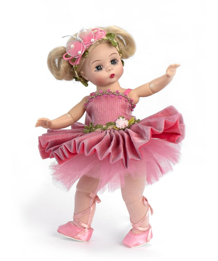 "Madame Alexander Butterfly Ballerina 8"" Collectible Doll from the Arts Collection - Ballerinas & Tutus"