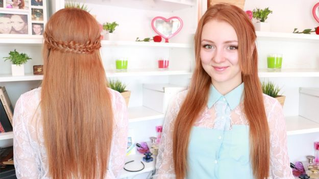 "Красивая прическа ""мальвинка"" с плетением ::: onelady.ru ::: #hair #hairs #hairstyle #hairstyles"
