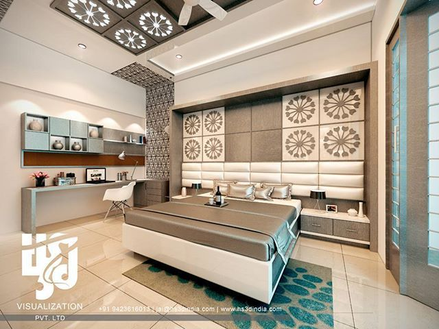 HS3D Visualization is an Indian creative group which specializes in 3D  architectural renderings and animations. Bedroom Interior DesignInterior ...