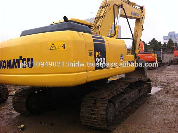 Used Komatsu PC220-7 Excavator for sale / Japan Used Komatsu PC200-7 PC220-7 Excavators
