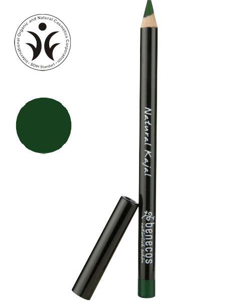 Натуральный карандаш для контура глаз и век (цвет зеленый)