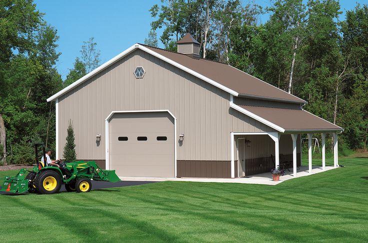 Morton Buildings Garage In Attica Michigan Hobby