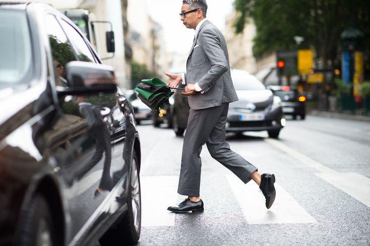 Paris Men's Fashion Week Spring 2015 Street Style - Paris Men's Fashion Week…