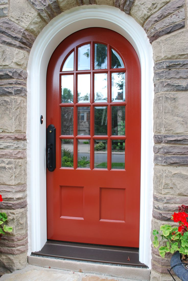 Round top front door window inserts - This Amberwood Beauty Is A Custom Solid Mahogany Round Top Door It Is Finished In