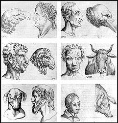"""""""Nel De Humana physiognomia"""" obra de Giambattista Della Porta (http://www.find-a-book.com/db/detail.php?booknr=352686696), explora la Fisiognomía es una disciplina que analiza la relación entre el cuerpo y el hombre interior. """"Hoy en día, los estudiosos coinciden en que la fisonomía no es una """"ciencia exacta"""", sino un modo de interpretación humana, que requiere """"verificación"""" constante […]"""""""