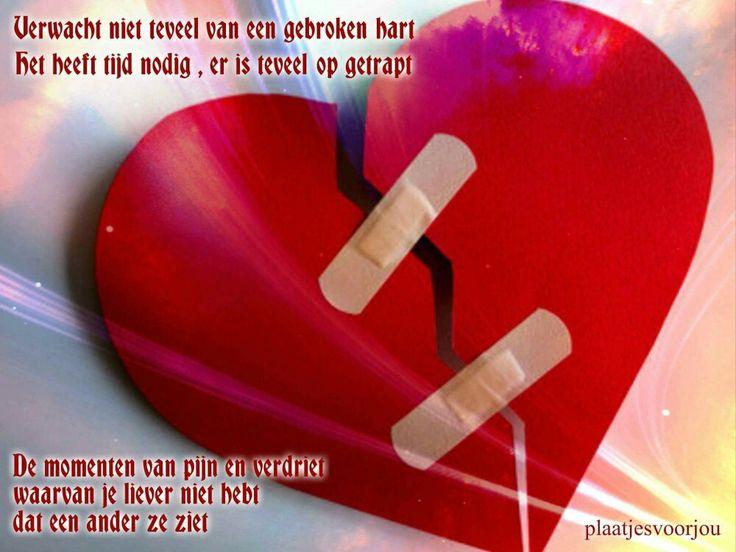Citaten Gebroken Hart : Gebroken hart spreuken pinterest