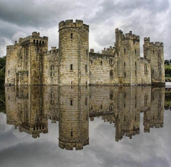 Bodiam Castle - East Sussex, England UK