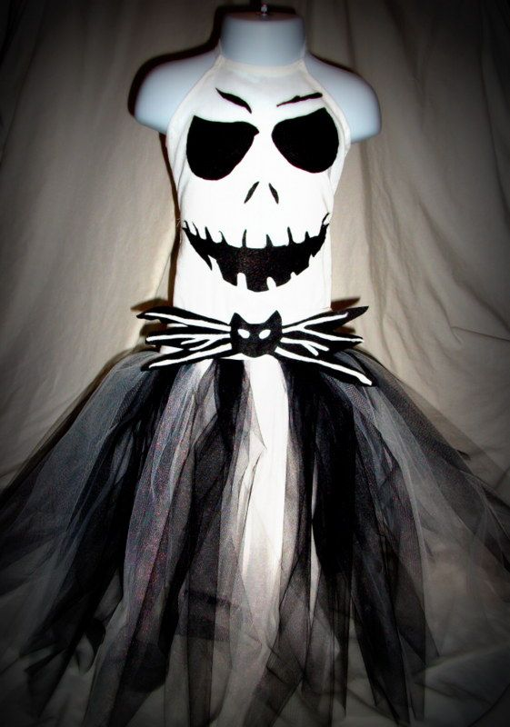 jack skellington tutu dress jack skellington pumpkinjack skellington costumehalloween - Halloween Jack Costume
