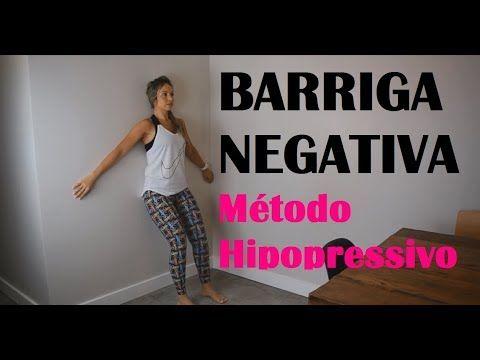 Como Ficar com a BARRIGA Negativa - Método Hipopressivo - YouTube