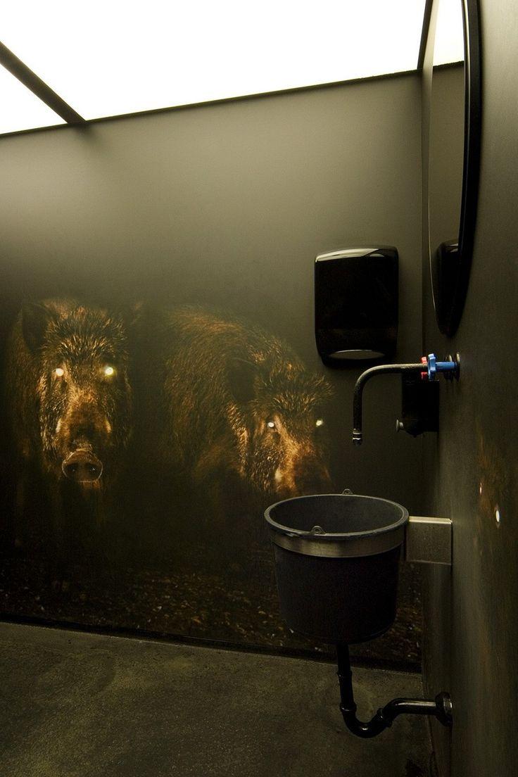 интересный интерьер туалета в ресторане: 17 тыс ...