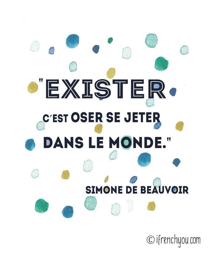 ...Pourtant Simone de Beauvoir était soumise à Jean Paul Sartre ! Alors, dire une chose et en faire une autre ?