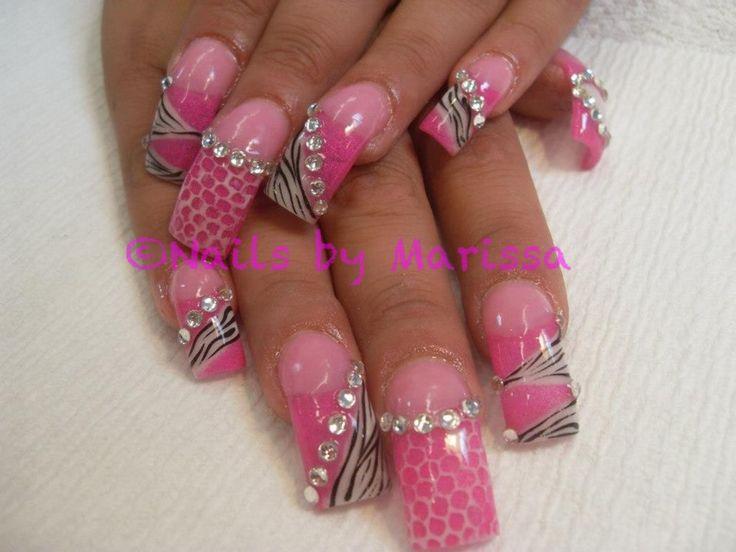 Photos of Beautiful Acrylic Nails | Acrylic nails | hair and beauty
