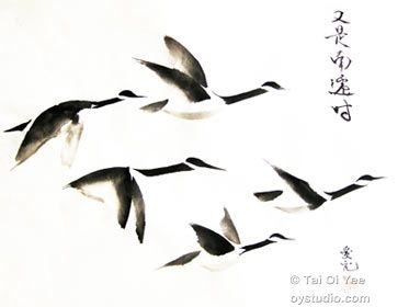 Original Sumi-e For Sale- Tai Oi Yee's Chinese Ink Painting Gallery