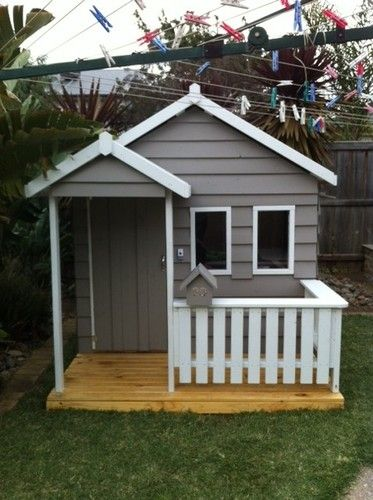 New MALIBU Kids Cubby House Made in Melbourne Solid timber Friendly service