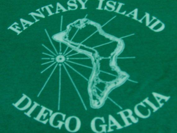 Vintage Fantasy Island Diego Garcia Shirt from by OldTimeTees, $14.99