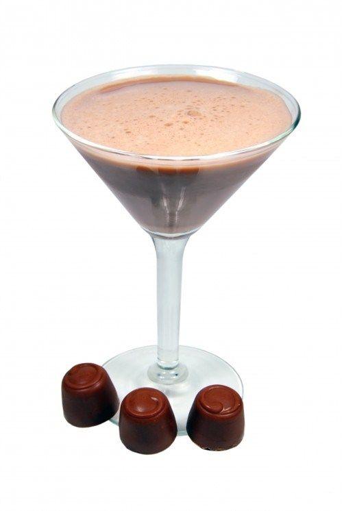Апельсиново-шоколадный мартини