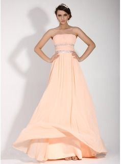 Holiday Dresses - $155.99 - A-Line/Princess Strapless Floor-Length Chiffon Holiday Dress With Ruffle Beading  http://www.dressfirst.com/A-Line-Princess-Strapless-Floor-Length-Chiffon-Holiday-Dress-With-Ruffle-Beading-020016074-g16074