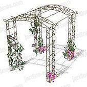 Un kiosque ou tonnelle pour décorer et aménager votre jardin Sobre et élégant, ce kiosque de jardin permet toutes les utilisations, du support pour...
