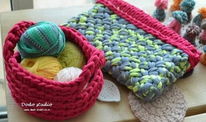 #crochet #knit #fabric_yarn #dodo_studio #basket