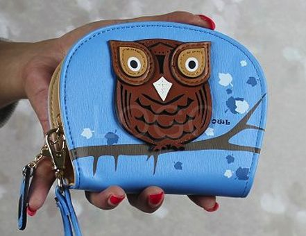 Light BLUE – Women Small Leather Owl Purse WalletHandbags | Bags | Women Bags www.edsfashions.co.uk  Satchels, Messenger and CrossBody Bags UK  We have College and School Bags.  Party Bags, Gym Bags and Weekend Travel Bags...  We have loads of animal print bags, i.e. Owl, Birds, Butterflies Bags  www.edsfashions.co.uk Card Clutch Holders Handbag Zip Bag
