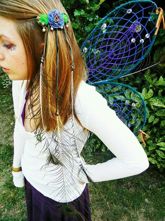 Neat DIY Woodland Fairy Wings by kaitlin