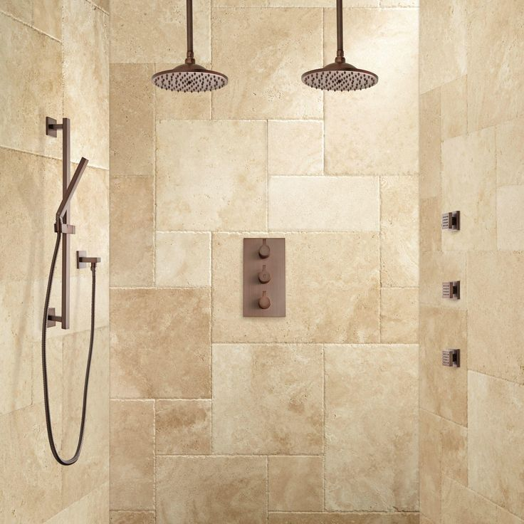 Body Jet Shower Bathroom: Labelle Thermostatic Dual Shower System