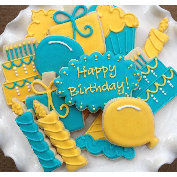 Happy Birthday Celebration Sugar Cookies Collection